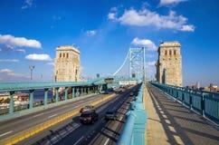 Мост Бен Франклина Стоковое Изображение RF