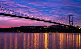 Мост Босфора Стоковые Фотографии RF
