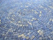 Мост булыжника сделанный от вычисляемых камней каменистая текстура Стоковые Фото