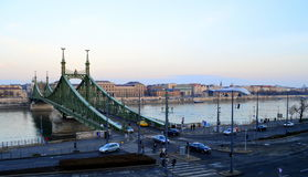 Мост Будапешт свободы Стоковые Изображения