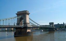 Мост Будапешт цепной Стоковые Фотографии RF