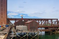 Мост бульвара Бостона северный Стоковые Изображения