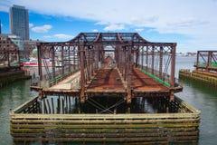 Мост бульвара Бостона северный Стоковое фото RF