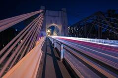 Мост Вальтера Тейлора в Брисбене стоковое изображение rf