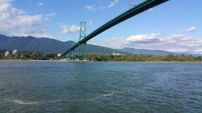 Мост Ванкувер парка Стэнли Стоковая Фотография RF