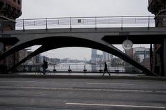 Мост Варшавы в Берлине Стоковое Изображение