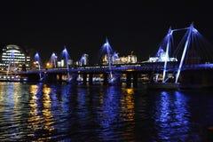 Мост Ватерлоо Стоковое Изображение RF