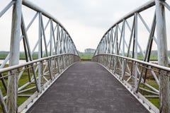 Мост велосипеда стоковое изображение rf