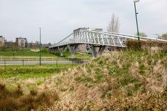 Мост велосипеда стоковые изображения rf
