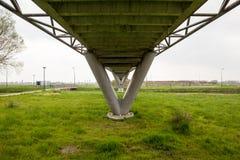 Мост велосипеда стоковое фото