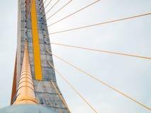 Мост веревочки в Таиланде Стоковое фото RF