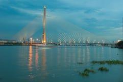 Мост веревочки Стоковое Изображение