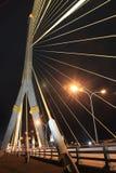 Мост веревочки Стоковые Изображения
