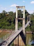Мост веревочки Pha Tam Стоковое Изображение RF