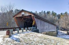 Мост Вермонта покрытый Стоковое Изображение