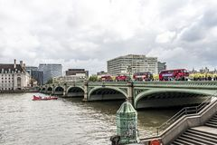 Мост Вестминстера стоковые изображения