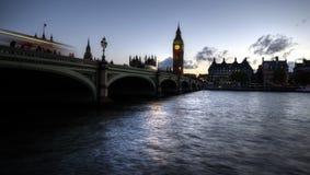 Мост Вестминстера Стоковые Изображения RF