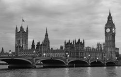 Мост Вестминстера Стоковые Фото