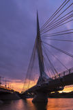 Мост Виннипега Стоковые Фотографии RF