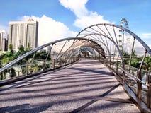 Мост винтовой линии Стоковые Изображения