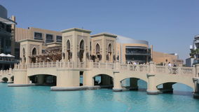 Мост вне мола Дубай видеоматериал