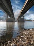 мост вниз Стоковые Изображения RF