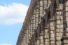 Мост-водовод в Сеговии, Испании Стоковая Фотография