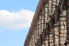 Мост-водовод в Сеговии, Испании Стоковое Фото