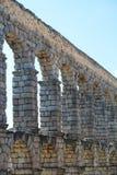 Мост-водовод в Сеговии, Испании Стоковые Фото