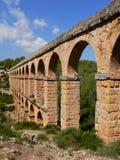 мост-водовод римская Испания tarragona Стоковое Изображение RF