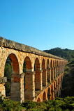 мост-водовод римский Стоковые Фото