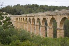 мост-водовод римский tarragona Стоковые Изображения