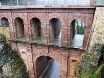 мост-водовод Стоковое Фото