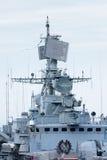 Мост военного корабля Стоковые Изображения