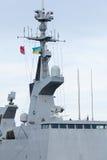 Мост военного корабля Стоковое фото RF