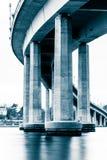 Мост военно-морского училища, в Аннаполисе, Мэриленд Стоковая Фотография