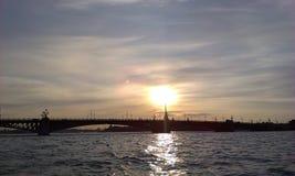 Мост дворца стоковая фотография rf