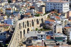 Мост-водовод, Кавала, Греция Стоковое Фото