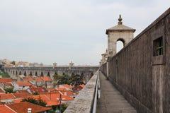Мост-водовод на Лиссабоне Стоковые Изображения