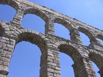 мост-водовод римский Стоковые Изображения RF