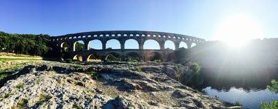 мост-водовод римский Стоковые Фотографии RF