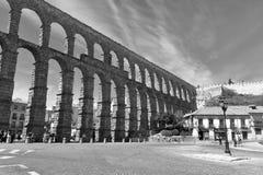 Мост-водовод Сеговии, Испании, Европы Стоковые Фото