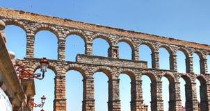 Мост-водовод, Сеговия, Испания Стоковые Фото