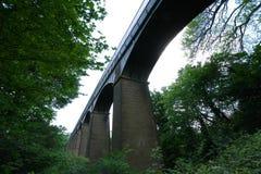 Мост-водовод Llangollen Уэльс Великобритания Pontcysyllte Стоковое Изображение RF