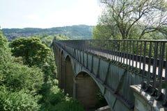 Мост-водовод Llangollen Уэльс Великобритания Pontcysyllte Стоковые Изображения