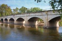 Мост-водовод Monocacy Стоковые Изображения