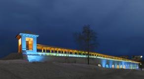 Мост-водовод Rostokino, Москва стоковые фото