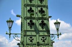 Фонарик моста вольности Стоковые Фотографии RF