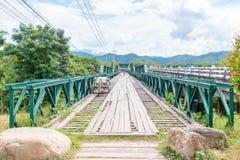 Мост Второй Мировой Войны мемориальный внутри, MAE HONG SON, ТАИЛАНД Стоковые Фотографии RF
