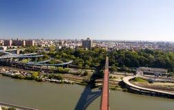 мост высоко ny Стоковые Фотографии RF